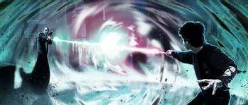 https://mediaproxy.tvtropes.org/width/350/https://static.tvtropes.org/pmwiki/pub/images/Harry-Potter-vs.-Lord-Voldemort.jpg