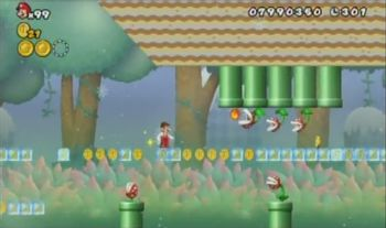 Super Mario Bros That One Level Tv Tropes