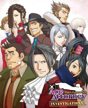Ace Attorney Investigations Miles Edgeworth Visual Novel Tv