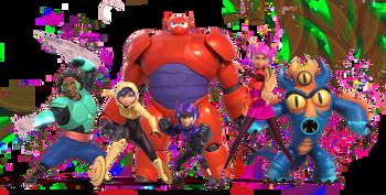 Big Hero 6 Big Hero 6 Characters Tv Tropes