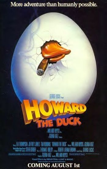 https://mediaproxy.tvtropes.org/width/350/https://static.tvtropes.org/pmwiki/pub/images/howard_the_duck_1986.jpg