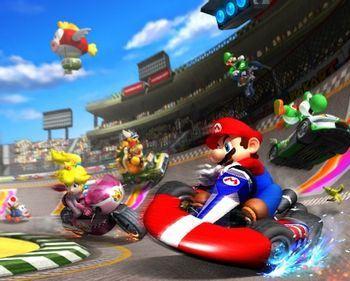 Mario Kart Wii Video Game Tv Tropes