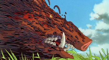 Princess Mononoke Nightmare Fuel Tv Tropes