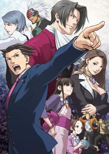 Phoenix Wright Ace Attorney Visual Novel Tv Tropes