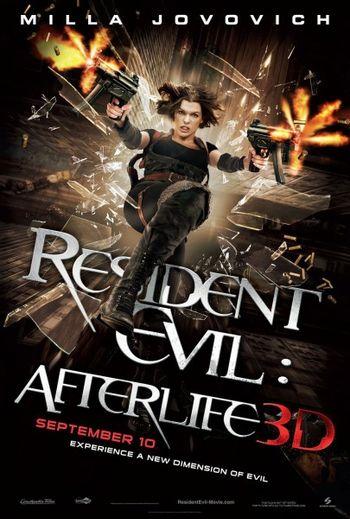Resident Evil Afterlife Film Tv Tropes