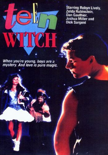 https://mediaproxy.tvtropes.org/width/350/https://static.tvtropes.org/pmwiki/pub/images/teen_witch_triangle_poster.jpg